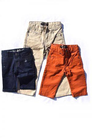 מארז 3 מכנסי בנים
